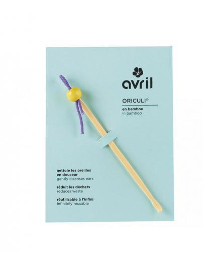 Avril - Earwax in bamboo eco-friendly cleaner Oriculi