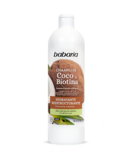 Babaria - Moisturizing and restructuring shampoo with coconut and biotin - Dry hair