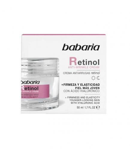 Babaria - Anti-wrinkle facial cream - Retinol