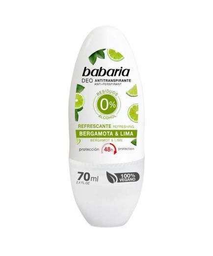 Babaria - Refreshing Antiperspirant Deodorant - Bergamot and Lime