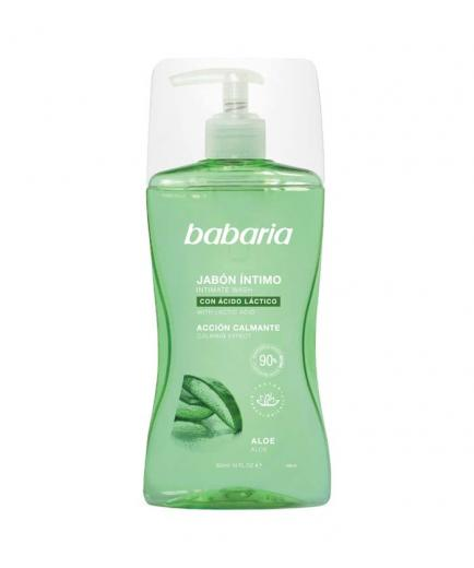 Babaria - Intimate soap with lactic acid - Soothing action - Aloe