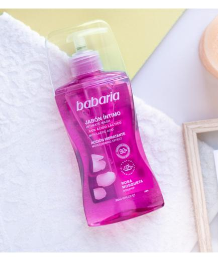 Babaria - Intimate soap with moisturizing action - Rosehip