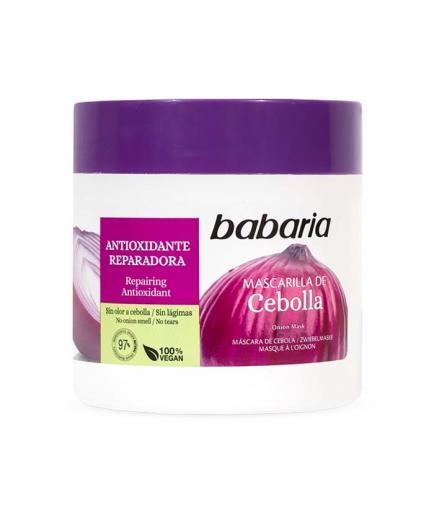 Babaria - Antioxidant and repairing onion hair mask