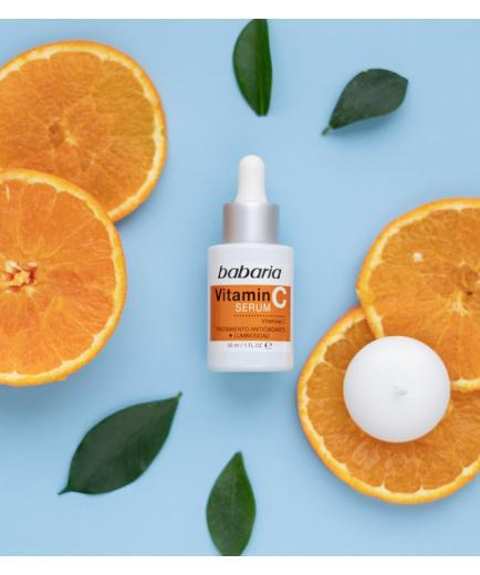 Babaria - Brightening and antioxidant facial serum with Vitamin C