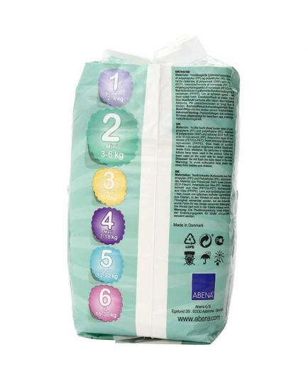 Bambo Nature - Organic diapers 30 units - Size 2 Mini (3-6kg)