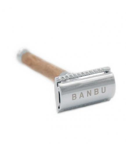 Banbu - Razor with wooden handle