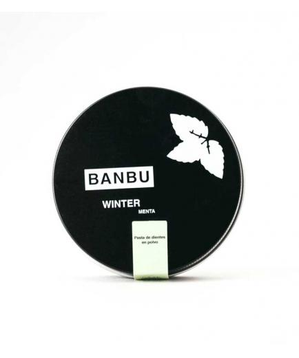 Banbu - Natural powder toothpaste 60ml - Winter menta