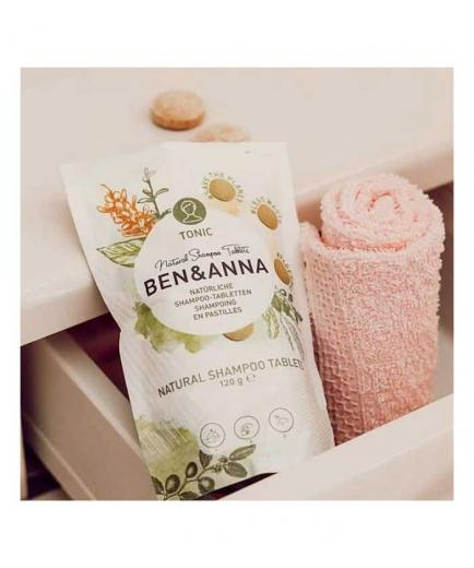 Ben & Anna - Shampoo in tablets 200g - Tonic