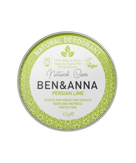Ben & Anna - Deodorant in metal can - Persian Lime