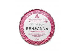 Ben & Anna - Deodorant in metal can - Pink grapefruit