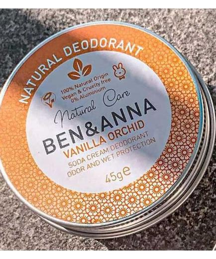 Ben & Anna - Deodorant in metal can - Vanilla Orchid