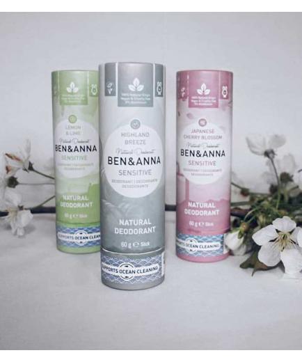 Ben & Anna - Papertube Sensitive Deodorant Stick - Highland Breeze