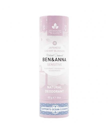 Ben & Anna - Papertube Sensitive Deodorant Stick - Japanese Cherry Blossom