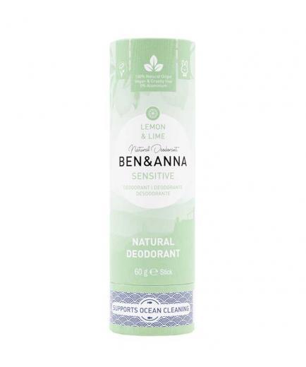 Ben & Anna - Papertube Sensitive Deodorant Stick - Lemon and Lime
