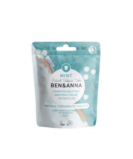 Ben & Anna - Toothpaste in tablets without fluoride 36g