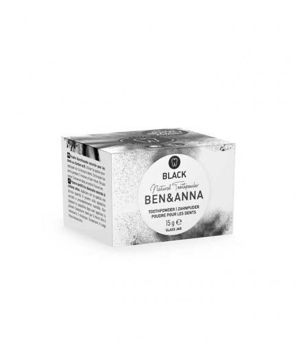 Ben & Anna - Powdered toothpaste - Black