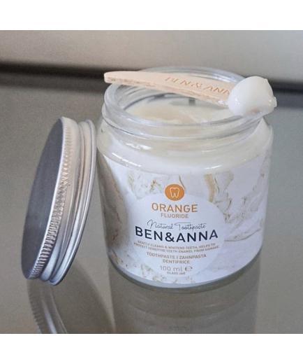 Ben & Anna - Natural cream toothpaste with fluoride - Orange