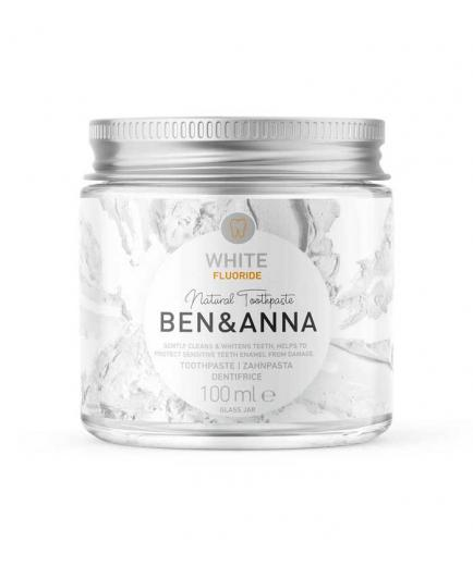 Ben & Anna - Natural cream toothpaste with fluoride - White