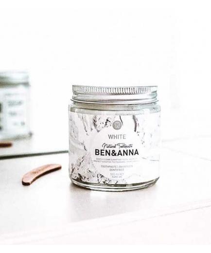 Ben & Anna - Natural cream toothpaste - White