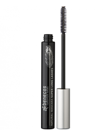 Benecos - Natural Mascara Super Long Lashes - Carbon Black