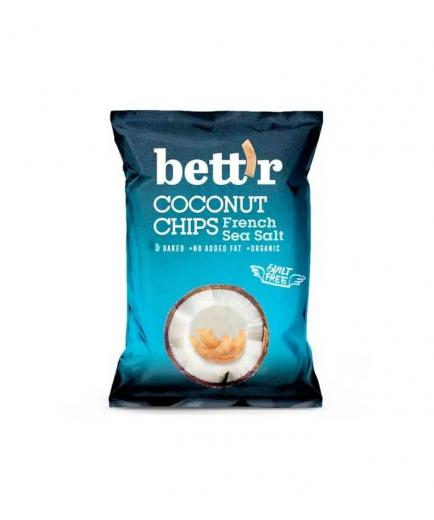 Bettr - Bio Coconut Chips 40g - Sea Salt