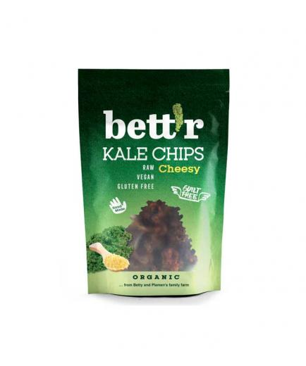 Bettr - Bio kale chips 30g - Vegan cheese and pepper