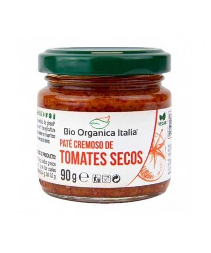 Bio Organica Italia - Creamy vegan pate of dried tomatoes bio 90g
