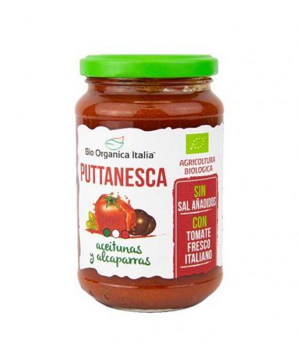 Bio Organica Italia - Puttanesca tomato sauce with olives and capers 325ml bio