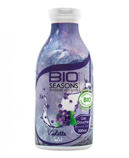 Bio Seasons - Gel de ducha - Violetas