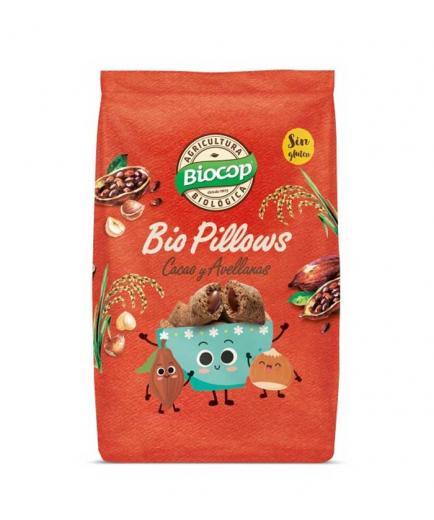 Biocop - Gluten-free cocoa and hazelnut cereals Bio Pillows 300g