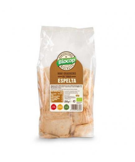 Biocop - Mini vegan spelled crackers 250g