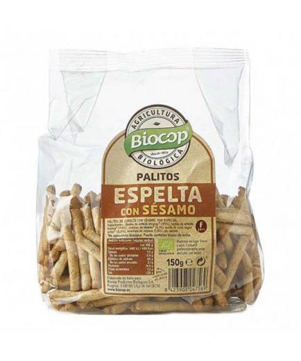 Biocop - Spelled and sesame wheat sticks Bio 150g