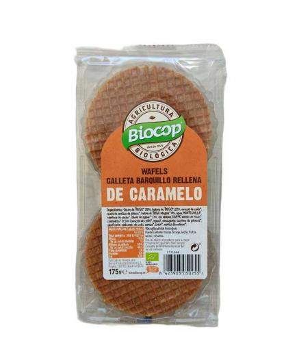Biocop - Wafels waffle biscuit eco 175g - Caramel
