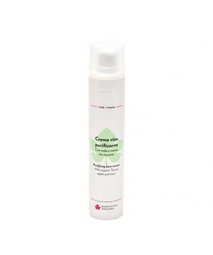 Biofficina Toscana - Purifying facial cream 60ml - Apple and mint