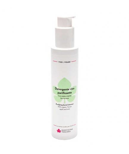 Biofficina Toscana - Purifying facial cleanser 150ml - Apple and mint