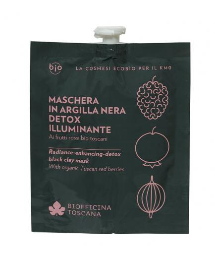 Biofficina Toscana - Radiance-enhancing-detox black clay mask