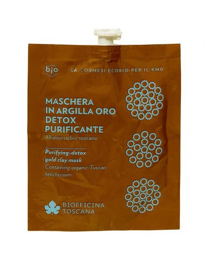Biofficina Toscana - Purifying-detox gold clay mask