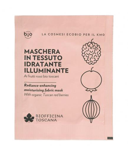 Biofficina Toscana - Radiance-enhancing-moisturising fabric mask