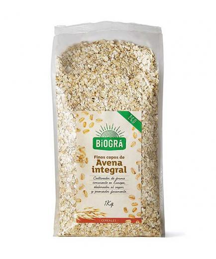 Biográ - Eco fine whole grain oat flakes 1kg
