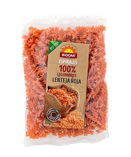 Biográ - 100% Bio 250g Red Lentil Spirals