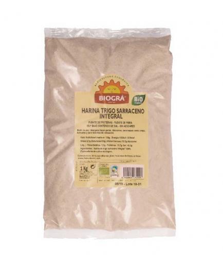 Biográ - Organic whole buckwheat flour 1kg
