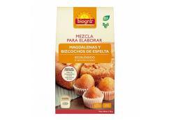 Biográ - Bio spelled cupcake and sponge cake mix