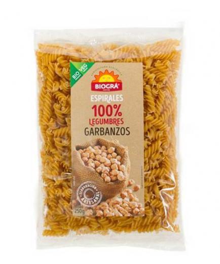 Biográ - 100% Organic Chickpea Spiral Pasta