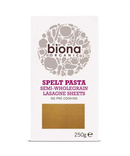 Biona Organic - Semi-integral spelled lasagna sheets