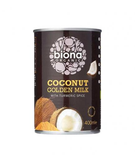 Biona Organic - Organic coconut milk with turmeric 400ml