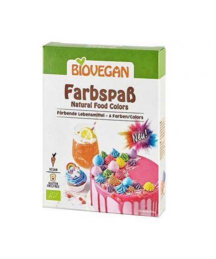 Biovegan - Bio food powder coloring - 5 colors