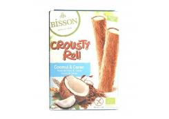 Bisson - Coco cookies filled with coconut Crousty Roll Bio