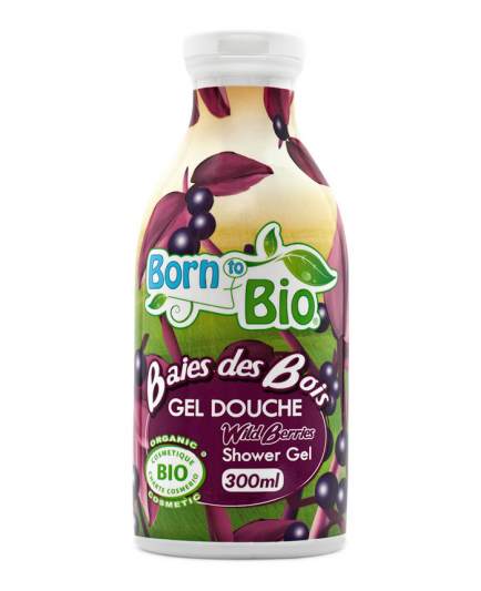 Born to Bio - Gel de ducha Wild Berries