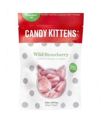 Candy Kittens - Vegan Gummies 125g - Strawberries