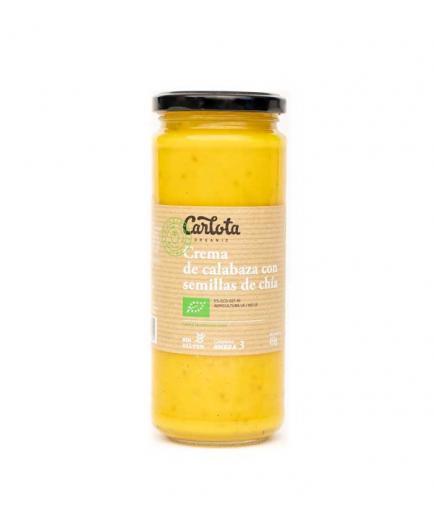 Carlota Organic - Pumpkin cream with chia seeds, gluten-free Bio 450g